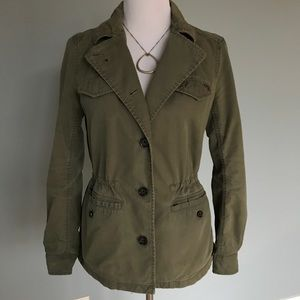 🌿Olive Green Military Jacket